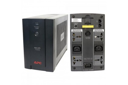 APC by Schneider Electric Back-UPS Line-interactive Tower UPS BX1400U-MS with AVR