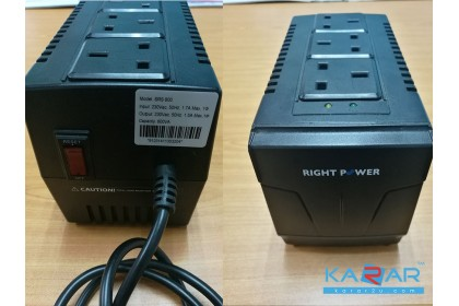 Right Power SRS800 800VA Automatic Voltage Regulator USED